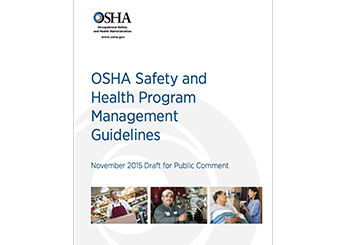 Safety and Health Program Management Guidelines