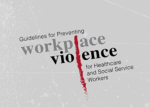 OSHA report cover: Guidelines for Preventing Workplace Violence for Healthcare and Social Service Workers