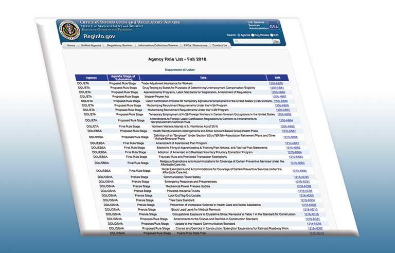 OSHA Agenda