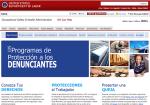 OSHA.gov web page: Whistleblowers program in Spanish