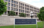 OSHA's headquarters in the U.S. Department of Labor building in Washington, DC