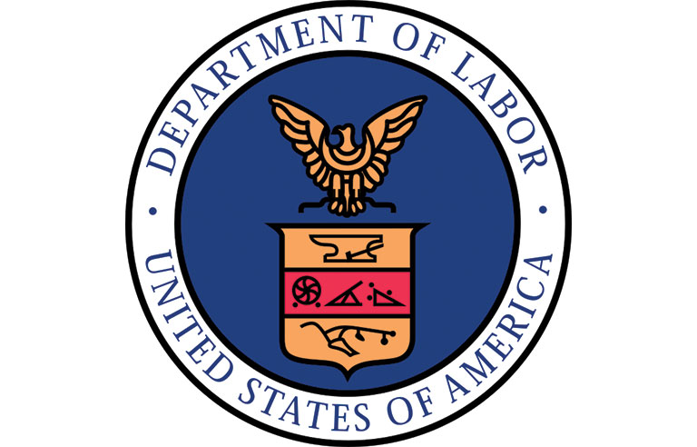 Dept. of Labor logo