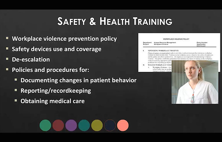 Safety & Health Training