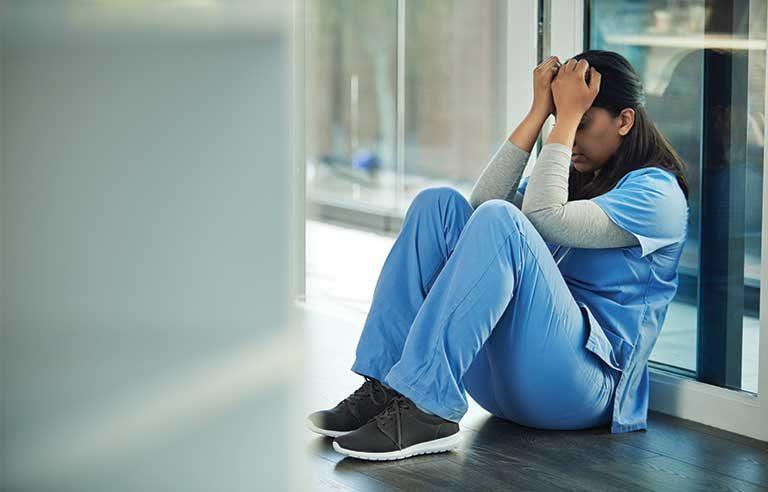 nurse stressed