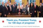 Trump's 100 Days