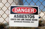 danger sign - asbestos