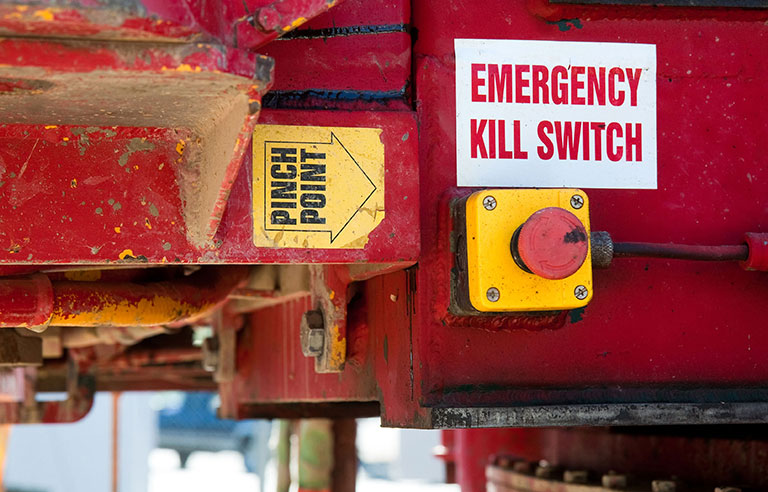 Emergency switchweb