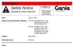 safety notice