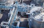 steel pipelines refinery