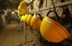 Hanging helmets