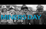 National Miners Day Dec. 6, 2016