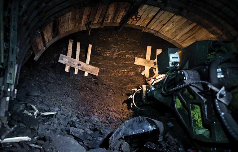 coal-mine-cutting-machine