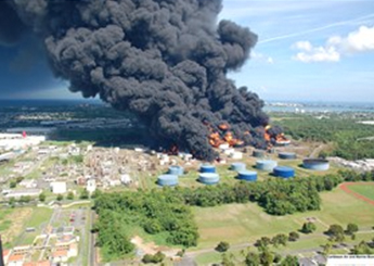 Caribbean Petroleum Refining Tank Explosion and Fire