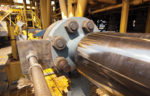 oil gas pipework