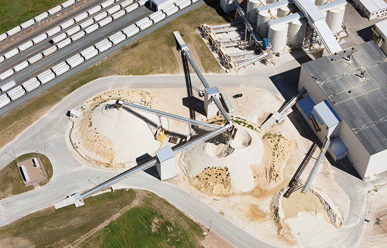 sand-processing-facility