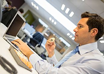 Office Temperatures May Affect How Much Workers Eat Study