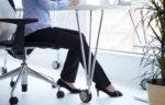feet under desk