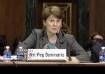 Peg Seminario testifies
