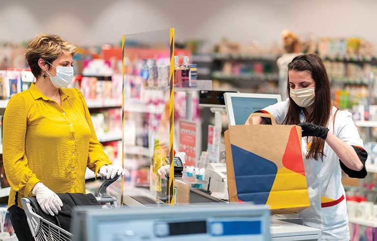 cashier-mask