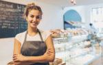 woman bakery