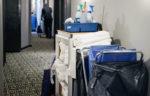 Hotel housekeeping cart