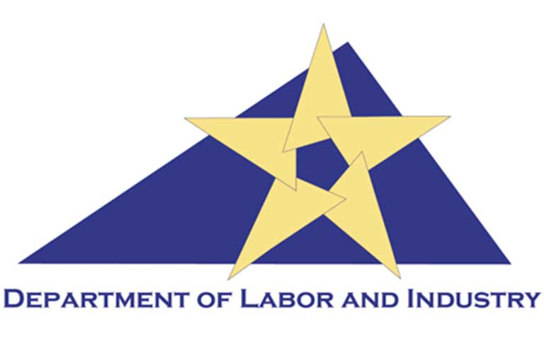 Dept of labor and industry