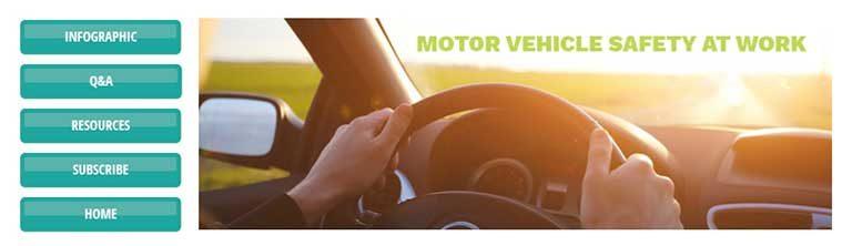 Motor Vehicle Safety at Work