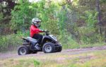 riding-an-ATV