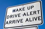 drive alert sign
