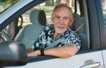 senior male driver