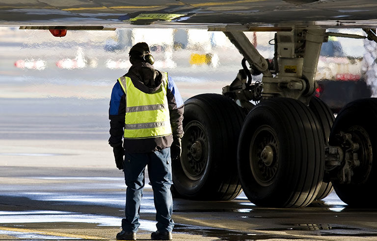 ground crew worker