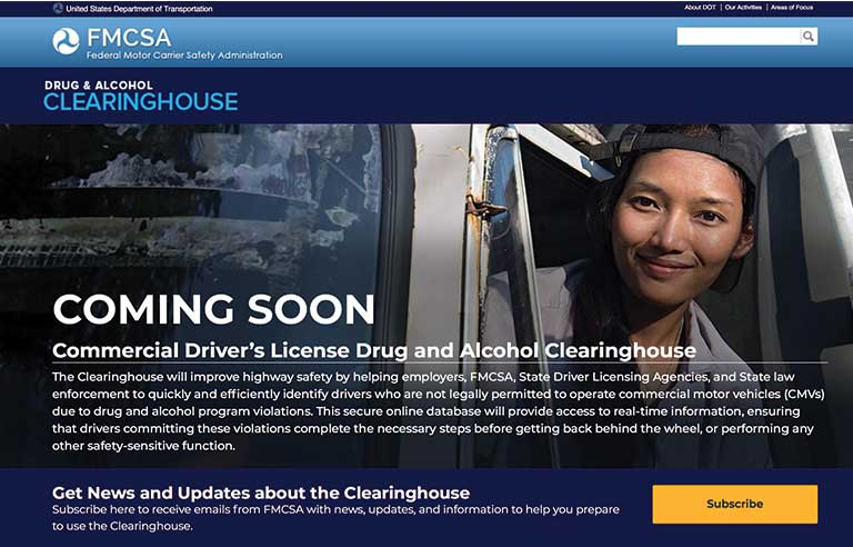 Women Need Answers On Drug Use During >> Fmcsa Webpage Answers Faqs On Upcoming Database Of Cmv