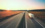 Truck on highway_Blur