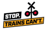 Stop trains can't logo