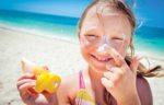 beach sunscreen