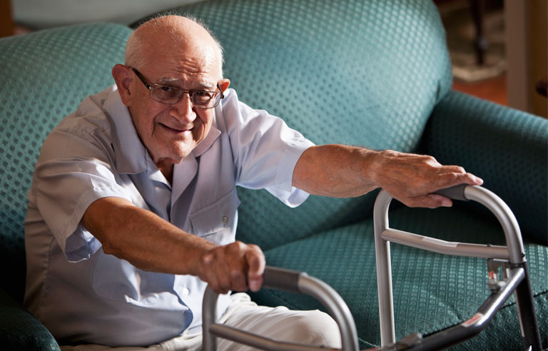 Inactivity Has Greater Health Impact On Frail Older Adults