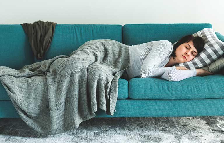 woman-napping