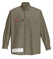 220709745 G&K Services: GKProtect® FR Uniform Shirt GKProtect® FR Uniform Shirt, made  from GlenGuard® 5.3-ounce fabric, allows moisture to quickly disperse, ...