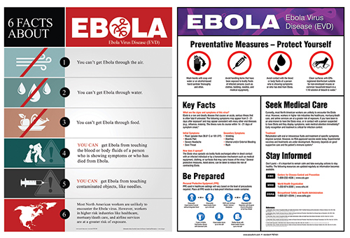 Ebola Safety Posters 2014 12 28 Safety Health Magazine