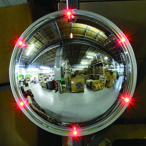 Flashing Led Safety Mirror 2015 06 28 Safety Health