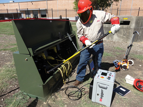 Cable Fault Training : Avo training institute safety health magazine