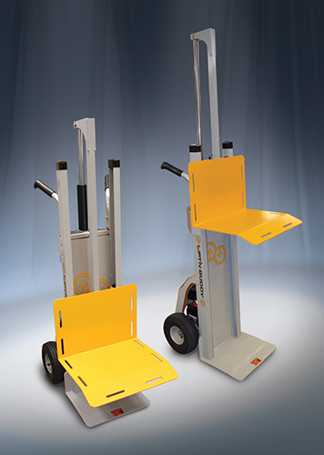 hand truck with powered lift