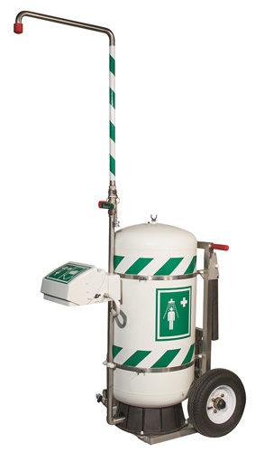 Portable Safety Shower 2017 07 23 Safety Health Magazine