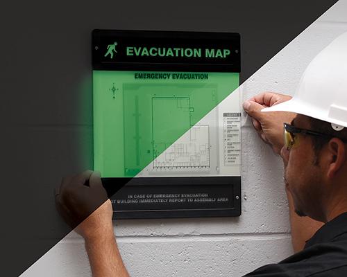 Evacuation Map Holder 2013 11 25 Safety Health Magazine