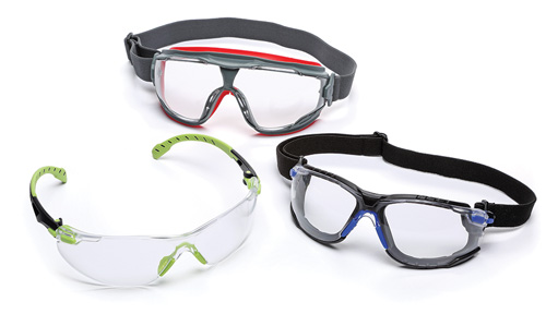 033f8519ef1 Scotchgard Anti-Fog Coating is now available on Solus 1000 Series Safety  Eyewear in a range of lens colors (clear