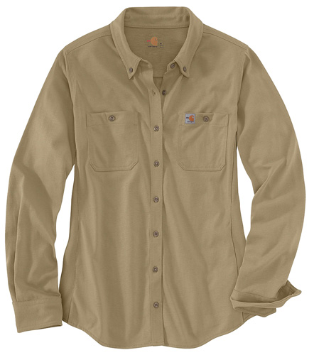 2bb5a85729a07 Carhartt.jpg. The Women's FR Force Cotton Hybrid Shirt is ...