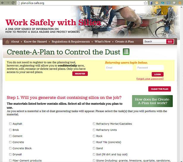 Create-a-Plan website