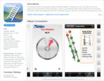 NIOSH ladder safety app -- iTunes screen
