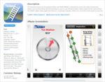 NIOSH ladder safety app -- iTunes screen
