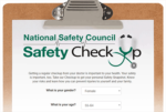 Safety checkup